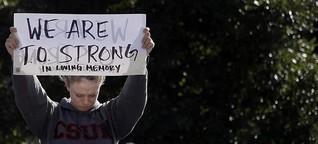 Nach Schüssen in Countrybar: Thousand Oaks trauert um die Opfer