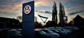 Volkswagen: Schwere Zeiten für Autohändler