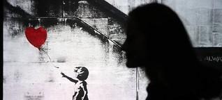 """""""Girl with balloon"""" von Banksy - Eine Spurensuche"""