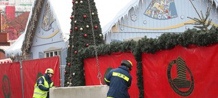 Weihnachtsmarkt ohne Betonpoller