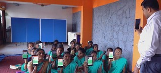Apps als Hilfe in der Not - Beispiele aus Indien und Deutschland