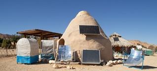 An diesem Ort in der Wüste Israels arbeiten Studierende an der Rettung der Welt