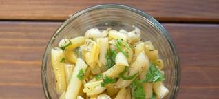 Bohnensalat Rezept – Salat mit Wachsbohnen/Wachsbrechbohnen