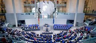 Diese Momente haben den Bundestag geprägt
