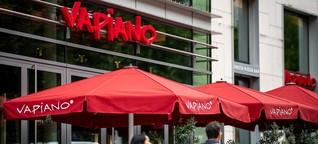 Vapiano ist zahlungsunfähig: Krise all'arrabbiata