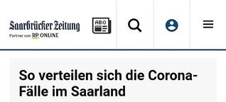 Was wir über die Corona-Fallzahlen im Saarland wissen