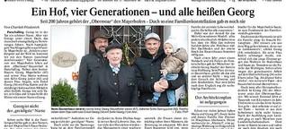Ein Hof, vier Generationen