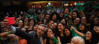 Präsident von Argentinien nimmt Legalisierung der Abtreibung in den Fokus