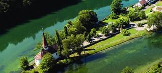 Mitten im Rhein