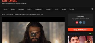 Gofilms4u – Download Bollywood, Hindi, Tamil, Telugu, Malayalam movies