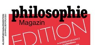 20 Impulse für 2020 - Philosophie Magazin