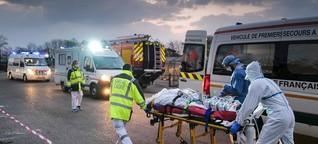 """Frankreich: """"Wir befinden uns am Scheitelpunkt der Epidemiekurve"""""""