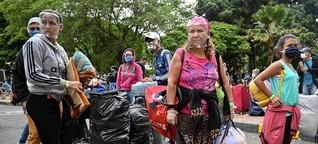 Venezolaner in der Coronakrise:  Flucht vor der Pandemie, zurück in den Hunger