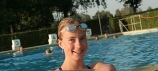 Annika Lekon ist die Gute-Laune-Schwimmerin
