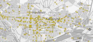 Fahrradunfälle in Karlsruhe: Wo es warum wie oft kracht