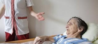 Frankreich: Ältere Corona-Patienten bewusst nicht in Klinik gebracht?
