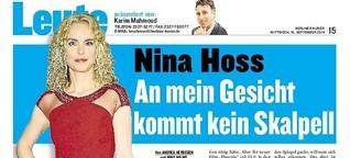 "Nina Hoss: ""An mein Gesicht kommt kein Skalpell"""