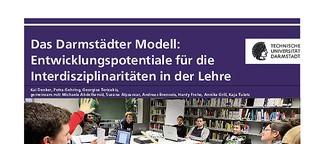 Entwicklungspotentiale für die Interdisziplinaritäten in der Lehre der TU Darmstadt