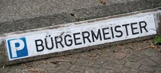 Stressjob: Viele Bürgermeister in Bayern wollen nicht mehr
