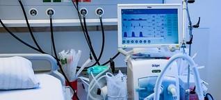 Corona-Studie: Patienten sterben häufig an Blutgerinnseln