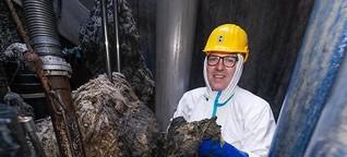 Vier Tonnen Feuchttücher verstopfen Klärwerk - Schöne Sch... dieses feuchte Klopapier
