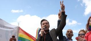 """Robert Biedroń: """"Die Regierung schürt eine schwulenfeindliche Stimmung"""""""