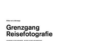 Grenzgang Reisefotografie