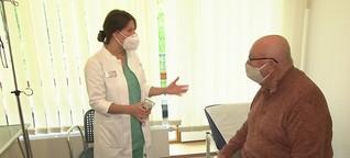 Rückgang von Facharztbesuchen seit Beginn der Corona-Krise