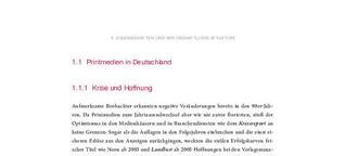 Skript »Grundlagen Printmedien« (Auszüge)