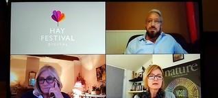 Das Hay Festival findet online statt - Ein Besuch