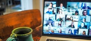Warum machen Videokonferenzen so müde? Fünf wissenschaftliche Gründe