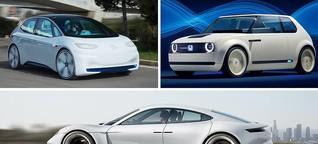Neue Elektroautos bis 2020 - Das Angebot wächst
