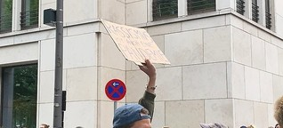 4500 Menschen bei Black-Lives-Matter-Demo vor US-Konsulat
