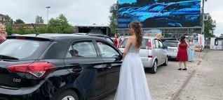 Heide: Schul-Abschlussfeier im Autokino