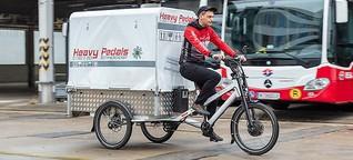 Paketlieferdienste nutzen ÖPNV-Infrastruktur