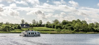 Mit dem Hausboot durch Irland