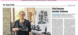 Anna Franziska Schwarzbachs Skulptur für den Brandenburgischen Kunstpreis