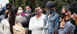 Kolumbien: Warten auf ein Ende der Ausgangssperre