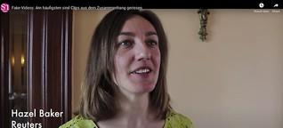 Fake-Videos: Am häufigsten sind Clips aus dem Zusammenhang gerissen