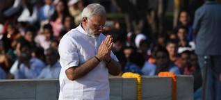 Pilgerreise zu Gandhis 150. Geburtstag | DW | 02.10.2019