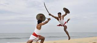 Indische Kampfkunst Kalaripayattu - Mit Hilfe der Götter kämpfen