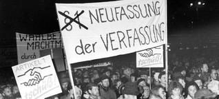 Wende in der DDR - Die Zeit der progressiven Ideen
