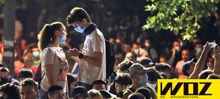 Unruhen in Serbien: Gegen den Mann am Coronaschalter