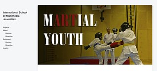 Multimedia feature: Martial Youth