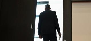Polizei in Hessen: Der Innenminister gibt den Druck weiter