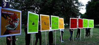 Berliner Bürgerinitiative: Ein Knigge wird kommen, sie vom Müll zu befreien
