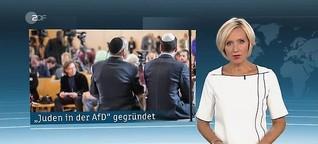 """heute 19, 7. Oktober 2019, """"Juden in der AfD"""" gegründet"""