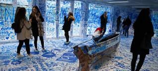 Container-Kunst von Yoko Ono