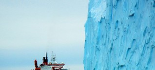 Treibhausgas: Erster Methan-Austritt in der Antarktis entdeckt