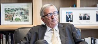 Europa-Legende Juncker: So muss man mit Trump umgehen